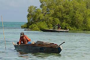 Traditional fishing activity of Boheyan Island community, Boheyan Island, Semporna, Sabah, Malaysia.