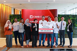 CIMB and WWF – Setiu Sponsorship Cheque Presentation